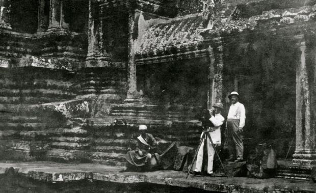 Gaston Méliès en tournage à Angkor (1913) [2]